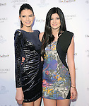 """Kendall Jenner and Kylie Jenner at The Fragrance Launch event for """"Unbreakable by Khloe + Lamar"""" held at The Redbury Hotel in Hollywood, California on April 04,2011                                                                               © 2010 Hollywood Press Agency"""