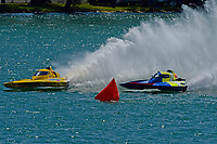 """Frame 16: Andrew Tate, H-300 """"Pennzoil"""", Donny Allen, H-14 """"Legacy 1""""       (H350 Hydro)"""