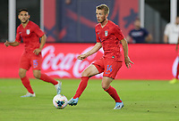WASHINGTON, D.C. - OCTOBER 11: Jackson Yueill #14 of the United States moves with the ball during their Nations League game versus Cuba at Audi Field, on October 11, 2019 in Washington D.C.