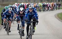 eventual winner Jasper Philipsen (BEL/Alpecin-Fenix) mingling at the front early in the race<br /> <br /> 109th Scheldeprijs 2021 (ME/1.Pro)<br /> 1 day race from Terneuzen (NED) to Schoten (BEL): 194km<br /> <br /> ©kramon