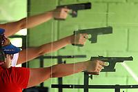 BARRANQUILLA - COLOMBIA, 22-07-2018:Modalidad  Tiro con Pistola .Juegos Centroamericanos y del Caribe Barranquilla 2018. / Shooting mode with sports pistol category of the Central American and Caribbean Sports Games Barranquilla 2018. Photo: VizzorImage /  Contribuidor