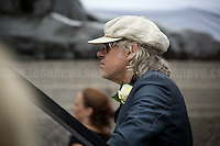 Bob Geldof KBE (Irish singer-songwriter, author, actor and political activist).<br /> <br /> London, 22/06/2016. Today, thousands of people gathered in Trafalgar Square to celebrate the life Jo Cox, the Labour Member of Parliament who was brutally killed by the far-right extremist Thomas Mair on the 16th of June 2016. From the organisers Facebook page: <<[…] We will gather together in Trafalgar Square to celebrate Jo's warmth, love, energy, passion, flair, Yorkshire heritage, and belief in the humanity of every person in every place, from Batley and Spen to Aleppo and Darayya. Jo believed that there is more that unites us than divides us, and she was killed for those beliefs. She believed in a love that is fierce, brave and humble. Her death has devastated a family, and attacked the ideals that we as a nation most cherish. But we will not be divided. We will rise up together to carry Jo's message forward. We will meet hate with love. On the day Jo would have been 42, we are asking everyone, everywhere to love like Jo loved. Jo's legacy is a direct challenge to everyone here, to take part, speak up and be a voice for the voiceless, to treat even those we disagree with with tolerance and genuine respect. Let's honour Jo on Wednesday by carrying forward the message that she now symbolises around the world - that we have #moreincommon than that which divides us.>>.<br /> <br /> For more information about the event please click here: https://www.facebook.com/events/1369130213102106/<br /> <br /> For more information about the death of Jo Cox please click here: https://en.wikipedia.org/wiki/Death_of_Jo_Cox & http://www.bbc.co.uk/news/uk-england-36550304