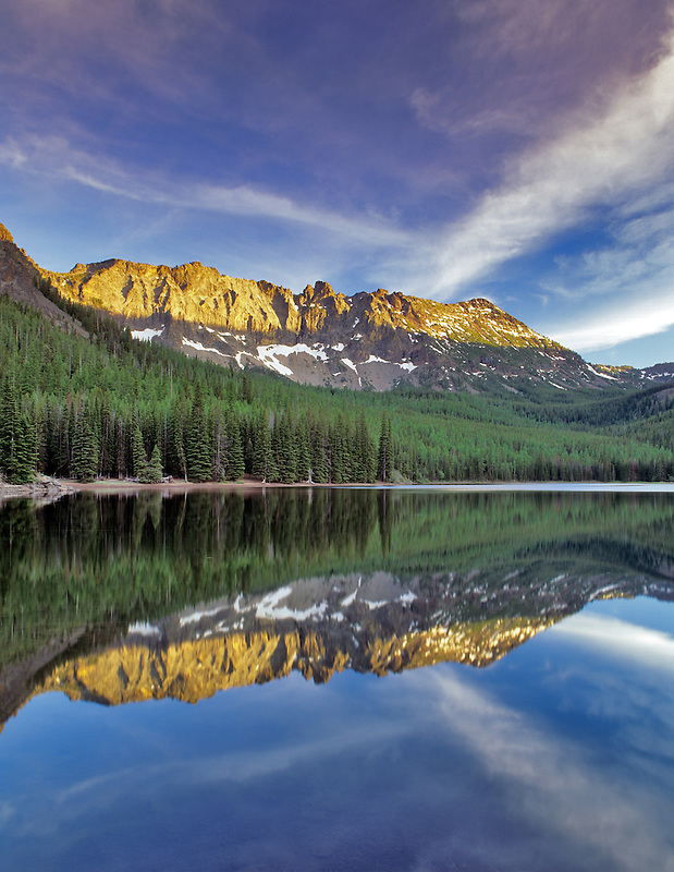 Strawberry Mountain and Lake. Oregon.
