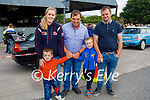 The Ashe family from Boolteens attending Ryan's Motor Memorial Tractor and Car run in Miltown on Sunday in Miltown, l to r: Tanya, Charlie, Francie, Conor and Shane Ashe
