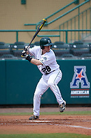 Dartmouth Big Green designated hitter Rob Emery (28) at bat during a game against the South Florida Bulls on March 27, 2016 at USF Baseball Stadium in Tampa, Florida.  South Florida defeated Dartmouth 4-0.  (Mike Janes/Four Seam Images)