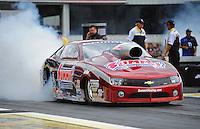 Jun. 3, 2012; Englishtown, NJ, USA: NHRA pro stock driver Greg Anderson during the Supernationals at Raceway Park. Mandatory Credit: Mark J. Rebilas-