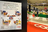 Tracciabilità dei prodotti a marchio Coop.<br /> Campagna di comunicazione.