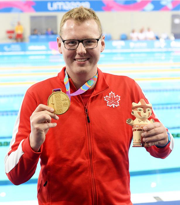 Tyson MacDonald, Lima 2019 - Para Swimming // Paranatation.<br /> Tyson MacDonald competes in Para Swimming // Tyson MacDonald participe en paranatation. 27/08/2019.