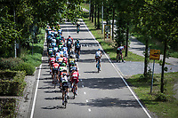pee-break...<br /> <br /> Binckbank Tour 2017 (UCI World Tour)<br /> Stage 1: Breda (NL) > Venray (NL) 169,8km
