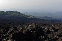 Lava am Etna, Sizilien, Italien , UNESCO-Weltnaturerbe