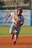 Alex Castellanos of the Palm Beach Cardinals during the game at Jackie Robinson Ballpark in Daytona Beach, Florida on July 27, 2010. Photo By Scott Jontes/Four Seam Images