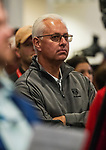 LOUISVILLE, KY - MAY 01: Trainer Todd Pletcher at the Post Position Draw at Churchill Downs on May 1, 2018 in Louisville, Kentucky. (Photo by Alex Evers/Eclipse Sportswire/Getty Images)
