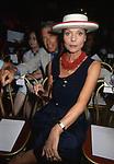 ELSA MARTINELLI<br /> ALLA SFILATA CURIEL GRAND HOTEL ROMA 1993