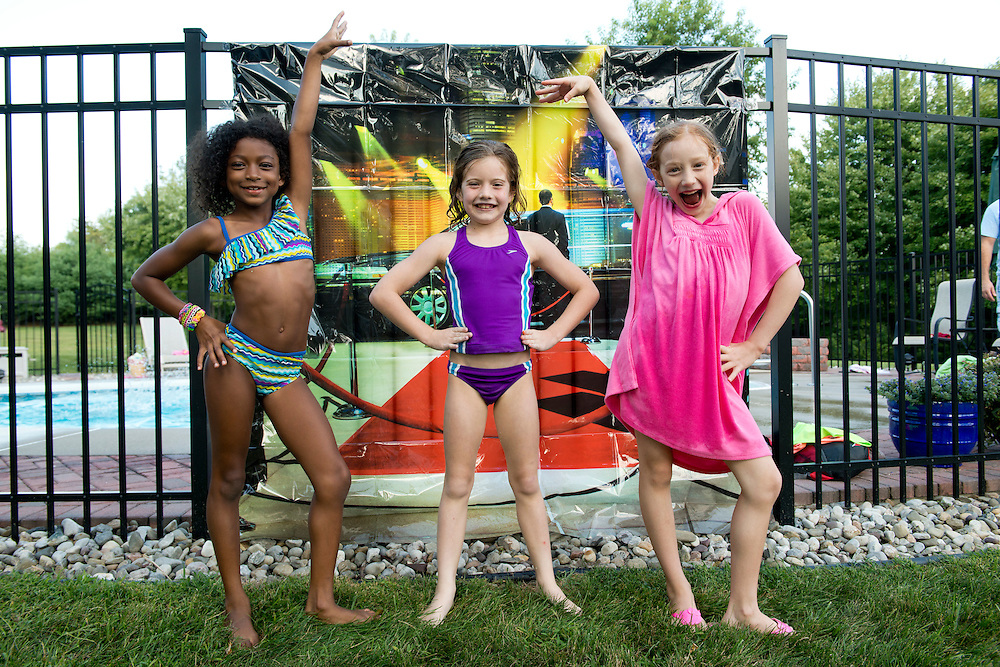 Gymnastics Pool Party