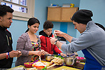 High School after school enrichment cooking class, taught by volunteer chef