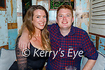 Suzanne Mulholland and Paul Desmond enjoying the evening in Molly J's on Friday