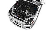 Car Stock 2018 Mercedes Benz E-Class E300 4 Door Sedan Engine  high angle detail view