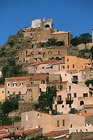 France/2B/Haute Corse/Balagne/Corbara: le village