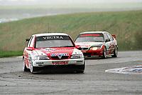 Round 1 of the 1998 British Touring Car Championship. #98 John Cleland (GBR). Vauxhall Sport. Vauxhall Vectra 16v.