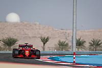26th March 2021; Sakhir, Bahrain; F1 Grand Prix of Bahrain, Free Practice sessions;  16 LECLERC Charles (mco), Scuderia Ferrari SF21, action during Formula 1 Gulf Air Bahrain Grand Prix 2021 from March 26 to 28, 2021 on the Bahrain International Circuit, in Sakhir, Bahrain