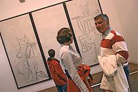 France/06/Alpes Maritimes/ Antibes: Le Musée Picasso au Château [Non destiné à un usage publicitaire - Not intended for an advertising use]