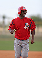 Washington Nationals minor leaguer Reggie Taylor during Spring Training at the Carl Barger Training Complex on March 19, 2007 in Melbourne, Florida.  (Mike Janes/Four Seam Images)
