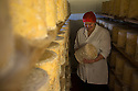 16/12/16<br /> ***WITH PICS***<br /> <br /> Diana Alcock checks the Blue Stilton.<br /> <br /> More than 1,800 of these traditional Christmas Blue Stilton cheeses have already left Hartington Creamery, in the heart of the Derbyshire Peak District, but with just one more week left before the big day, there are still another 150 of the giant 8kg cheese cylinders to reach maturity and be shipped out in time to partner the post-feast glass of port on December 25th.<br /> <br /> FULL STORY: https://fstoppressblog.wordpress.com/christmas-blue-stilton-from-derbyshire/<br /> <br /> All Rights Reserved: F Stop Press Ltd. +44(0)1773 550665  www.fstoppress.com