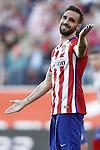 Atletico de Madrid's Jesus Gamez during La Liga match. April 30,2016. (ALTERPHOTOS/Acero)