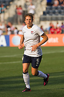 Kelley O'Hara (5) of the United States (USA). The United States (USA) women defeated China PR (CHN) 4-1 during an international friendly at PPL Park in Chester, PA, on May 27, 2012.