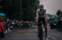 Ian Stannard (GBR/SKY) decided that today was the day for a full on attack; he set out the basis for the breakaway group to succeed and then rolled on to overpower everybody in his typical style.<br /> <br /> Stage 7: West Bridgford to Mansfield (215km)<br /> 15th Ovo Energy Tour of Britain 2018