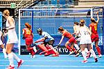 Women's match between New Zealand and Spain, Oi Hockey Stadium, Tokyo, Japan, Wednesday 28 July 2021. <br /> Photo: Alisha Lovrich/HockeyNZ/www.bwmedia.co.nz
