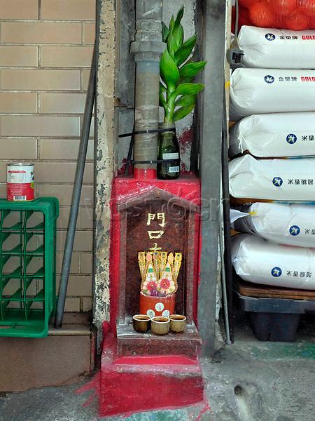 Hongkong, China, Asien, urbane Flora<br />  ***Keine Social_Media Nutzung***<br /> <br /> Engl.: Asia, China, Hong Kong, urban flora, plant, religion<br /> ***No social media use***