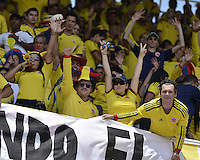 BARRANQUIILLA -COLOMBIA-06-09-2013. Aspecto del partido entre Colombia y Ecuador válido para la clasificación a la Copa Mundo FIFA 2014 Brasil jugado en el estadio Metropolitano Roberto Melendez en Barranquilla./  Aspect of the match between Colombia and Ecuador valid for the qualifier to 2014 FIFA World Cup Brazil played at Metropolitan stadium Roberto Melendez in Barranquilla.  Photo: VizzorImage/Gabriel Aponte/STR