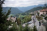 crash in the peloton<br /> <br /> 115th Il Lombardia 2021 (1.UWT)<br /> One day race from Como to Bergamo (ITA/239km)<br /> <br /> ©kramon