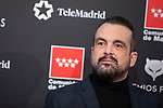 MADRID, SPAIN - JANUARY 16: Spanish director Nacho Vigalondo attends Feroz awards 2020 red carpet at Teatro Auditorio Ciudad de Alcobendas on January 16, 2020 in Madrid, Spain.