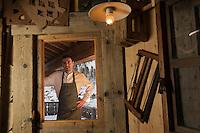 Europe/France/73/Savoie/Val d'Isère:  Benoît Vidal. chef du restaurant: L'Atelier d'Edmond, au Fornet