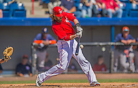 5 March 2013: Washington Nationals outfielder Jayson Werth in action during a Spring Training game against the Houston Astros at Space Coast Stadium in Viera, Florida. The Nationals defeated the Astros 7-1 in Grapefruit League play. Mandatory Credit: Ed Wolfstein Photo *** RAW (NEF) Image File Available ***