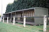 Covered area at Shepton Mallet FC Football Ground, Playing Fields, Old Wells Road, West Shepton, Shepton Mallet, Somerset, pictured on 27th March 1997