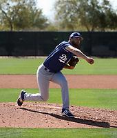 Dan Jagiello - Los Angeles Dodgers 2019 spring training (Bill Mitchell)