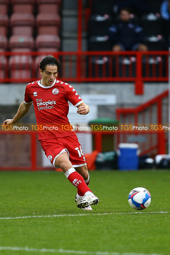 Tom Nichols of Crawley Town during Crawley Town vs Carlisle United, Sky Bet EFL League 2 Football at Broadfield Stadium on 21st November 2020
