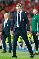 Spain's coach Julen Lopetegui during FIFA World Cup 2018 Qualifying Round match. September 2,2017.(ALTERPHOTOS/Acero)
