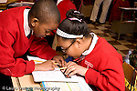 K-8 Parochial School Bronx New York Grade 3 mathematics lesson on measurement using rulers horizontal
