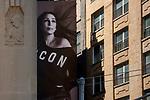 "Watts St / Thompson St.<br /> From the ""Tall Figures"" series. <br /> Manhattan, New York.<br /> © 2020 Thierry Gourjon"