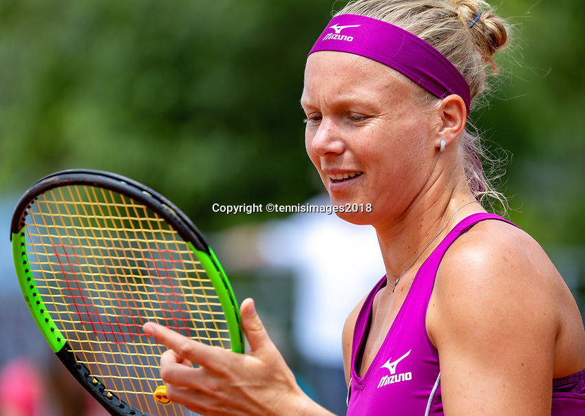Paris, France, 01 June, 2018, Tennis, French Open, Roland Garros, Womans Doubles : Kiki Bertens (NED) <br /> Photo: Henk Koster/tennisimages.com