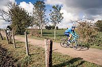 Eduard Prades (ESP/Movistar)<br /> <br /> 82nd Gent-Wevelgem in Flanders Fields 2020 (1.UWT)<br /> 1 day race from Ieper to Wevelgem (232km)<br /> <br /> ©kramon