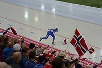 SPEEDSKATING: HAMAR: Vikingskipet, 29-02-2020, ISU World Speed Skating Championships, Allround, 5000m Men, Sverre Lunde Pedersen (NOR), ©photo Martin de Jong