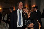 ERNESTO MOCCI E GLORIA PORCELLA<br /> PREMIO GUIDO CARLI - SECONDA EDIZIONE<br /> RICEVIMENTO A CASINA VALADIER ROMA 2011