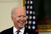 U.S. President Joe Biden delivers remarks on the March jobs report at the White House in Washington on April 2, 2021. <br /> CAP/MPI/RS<br /> ©RS/MPI/Capital Pictures