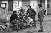 - Nicaragua, army soldiers patrol a collective farm in the area of Jinotega (January 1988)<br /> <br /> - Nicaragua, militari dell'esercito presidiano una fattoria collettiva nella zona di Jinotega (Gennaio 1988)