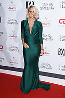 Danielle Armstrong<br /> arriving for the Float Like a Butterfly Ball 2019 at the Grosvenor House Hotel, London.<br /> <br /> ©Ash Knotek  D3536 17/11/2019
